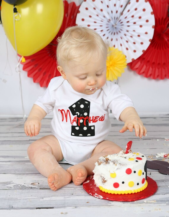 Pleasant First Birthday Outfit Boy Personalized Baby Boys First Etsy Funny Birthday Cards Online Inifofree Goldxyz