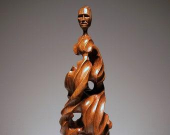 Abstract Wood figure