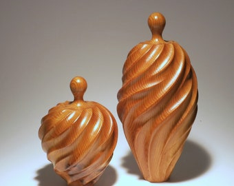 Abstract wood figure person sculpture