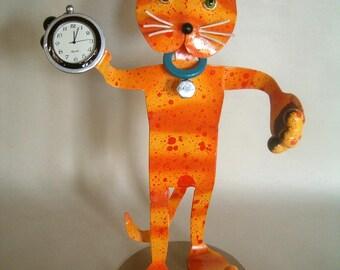 Yellow Tabby Watchcat