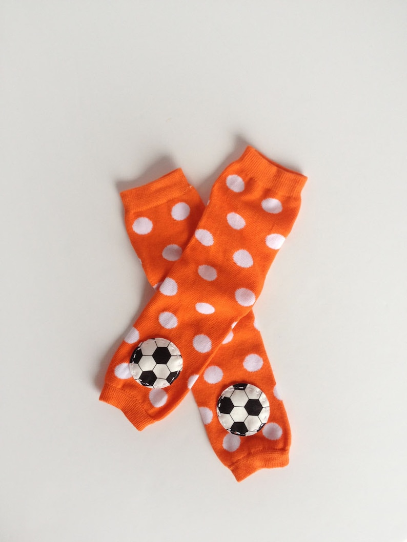 Any Color Soccer Baby Leg Warmers