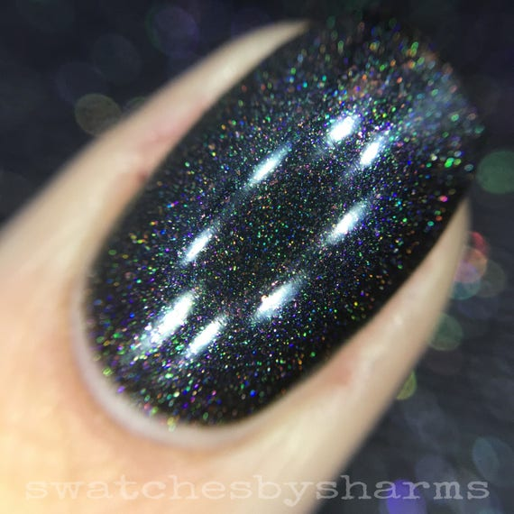 Exploring Exoplanets nail polish by Comet Vomit