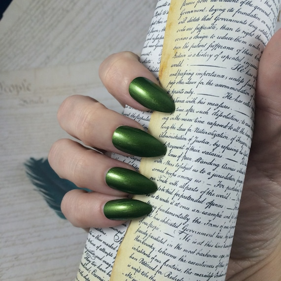The Park Long After Dark nail polish Hamilton Musical green phillip hamilton park