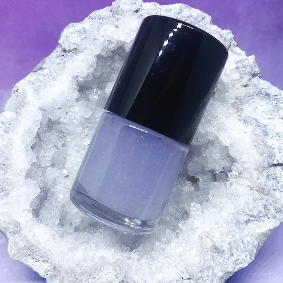 Moonstone and Opal powder top coat nail polish