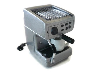 Dollhouse Miniatures Electric Square Waffle Maker Bakery Accessories Shop