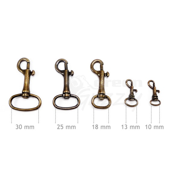 Bag Swivel trigger clips snap hook dog lead for 18 25 30 mm strapping