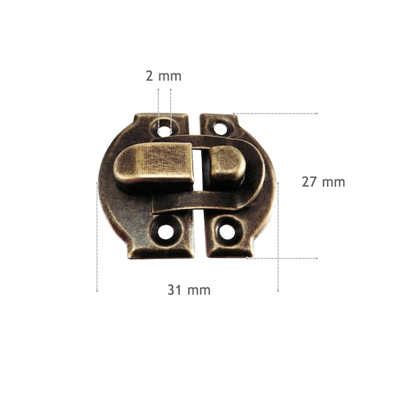 Toggle Catch Latch Case Trunk Chest Boxes Suitcase Clip Clasp Trinket Tool AJB