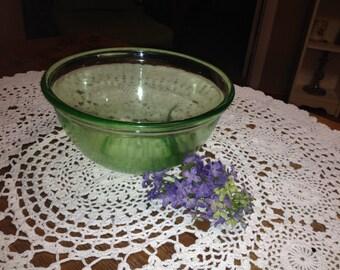 Nice Green Vintage Mixing Bowl