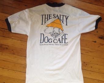 1989 The Salty Dog Cafe Hilton Head ringer t shirt USA medium cbeaa4eaa