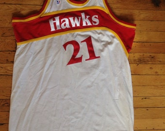 284625904 ... order vintage mitchell ness nba atlanta hawks dominique wilkins jersey  usa size 56 910ee 6b28c