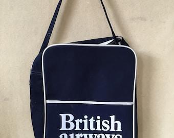 88f859edc5 Vintage British Airways travel tote bag