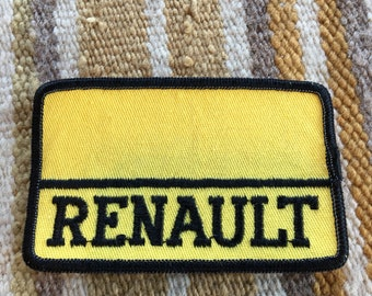 Vintage Renault patch