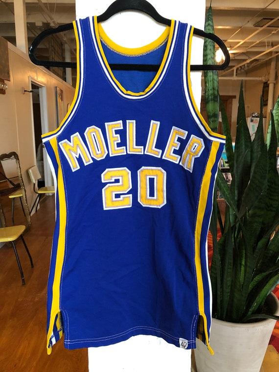 Vintage Moeller Crusaders basketball jersey