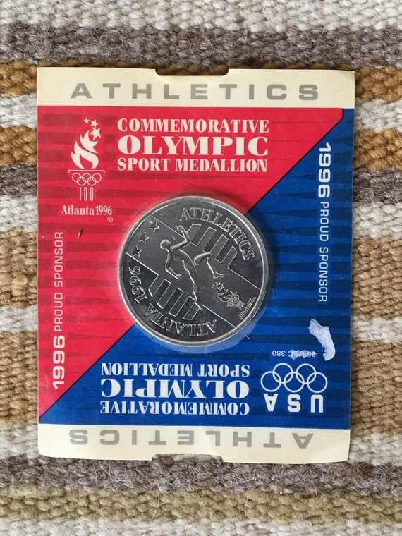 1996 Ukraine Commemorat​ive Coin for XXVI Olympic Games