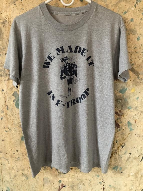 Vintage F Troop television show t shirt