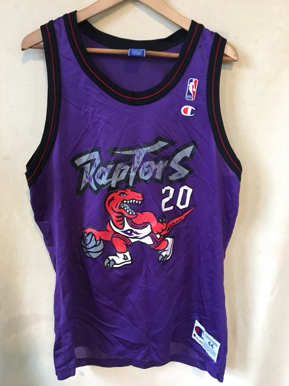 Vintage NBA basketball Toronto Raptors Damon Stoudamire  ee7b310f6