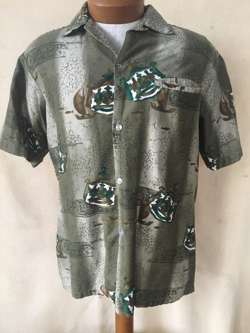 51cdb34c Vintage Tropicana Hawaiian shirt | Etsy