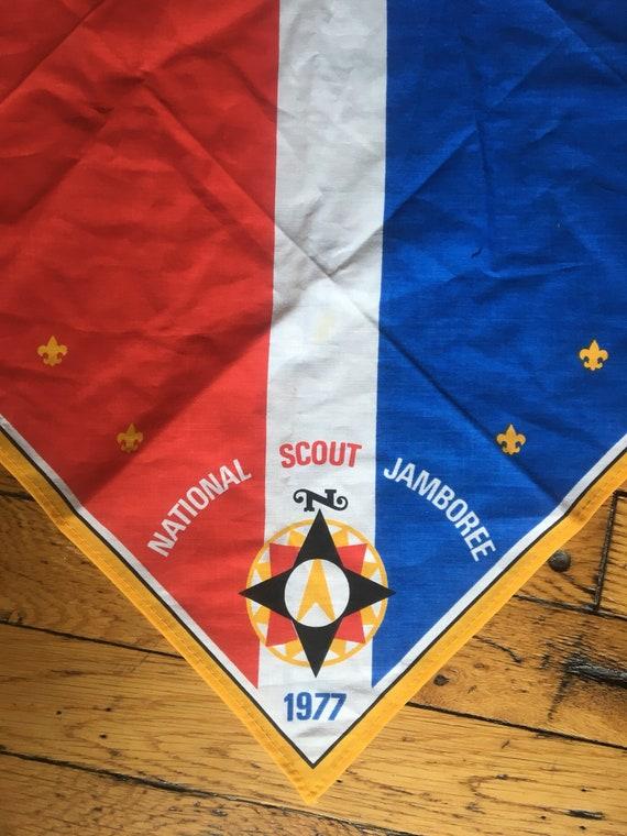 1981 National Scout Jamboree Virginia VA Neckerchief Boy Scouts of America BSA