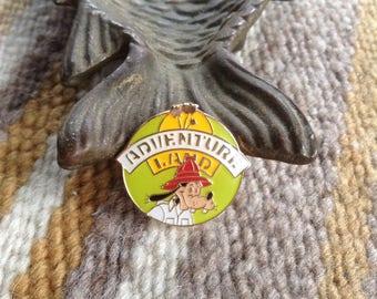 Vintage Walt Disney Goofy Adventure Land pin