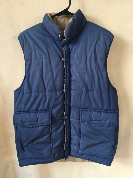 Vintage Twin Peaks goose down vest USA large