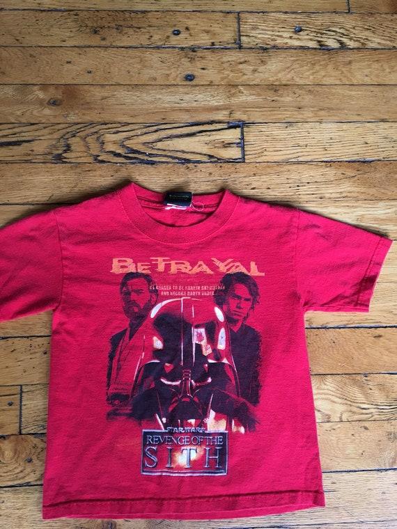 Star Wars Revenge Of The Sith Kids T Shirt Etsy