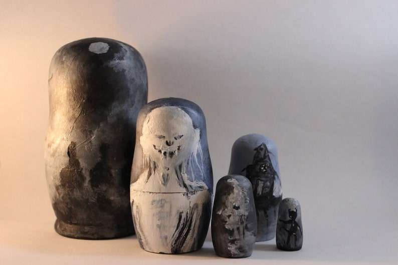 Spooky Tales Nesting Dolls Scary Stories To Tell In The image 0