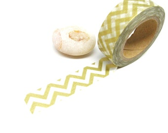 Gold Washi Tape - Chevron Washi Tape