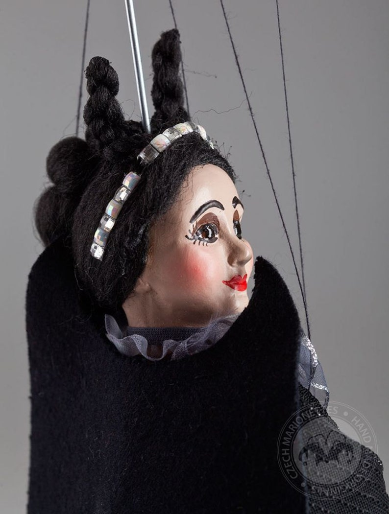 Countess von Teese Marionette Czech Handmade String Puppet