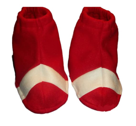 Sonic The Hedgehog Shadow Costume Halloween Shoe Covers Spats Etsy