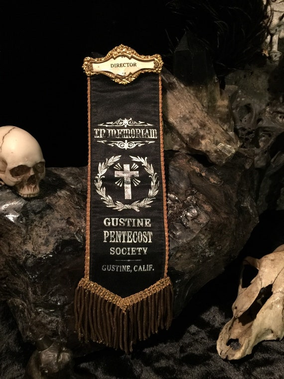 Memento Mori at Gothic Rose Antiques Antique Mourning Group Funeral Photo Coffin and Pallbearers