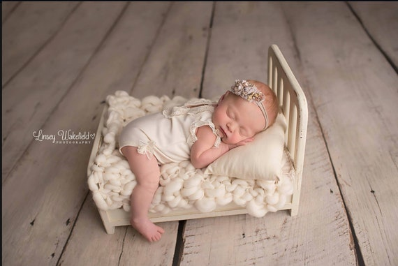Our First named Newborn Bed Wood Photo props Our Nicole Bed Newborn Beds Newborn Photography Props