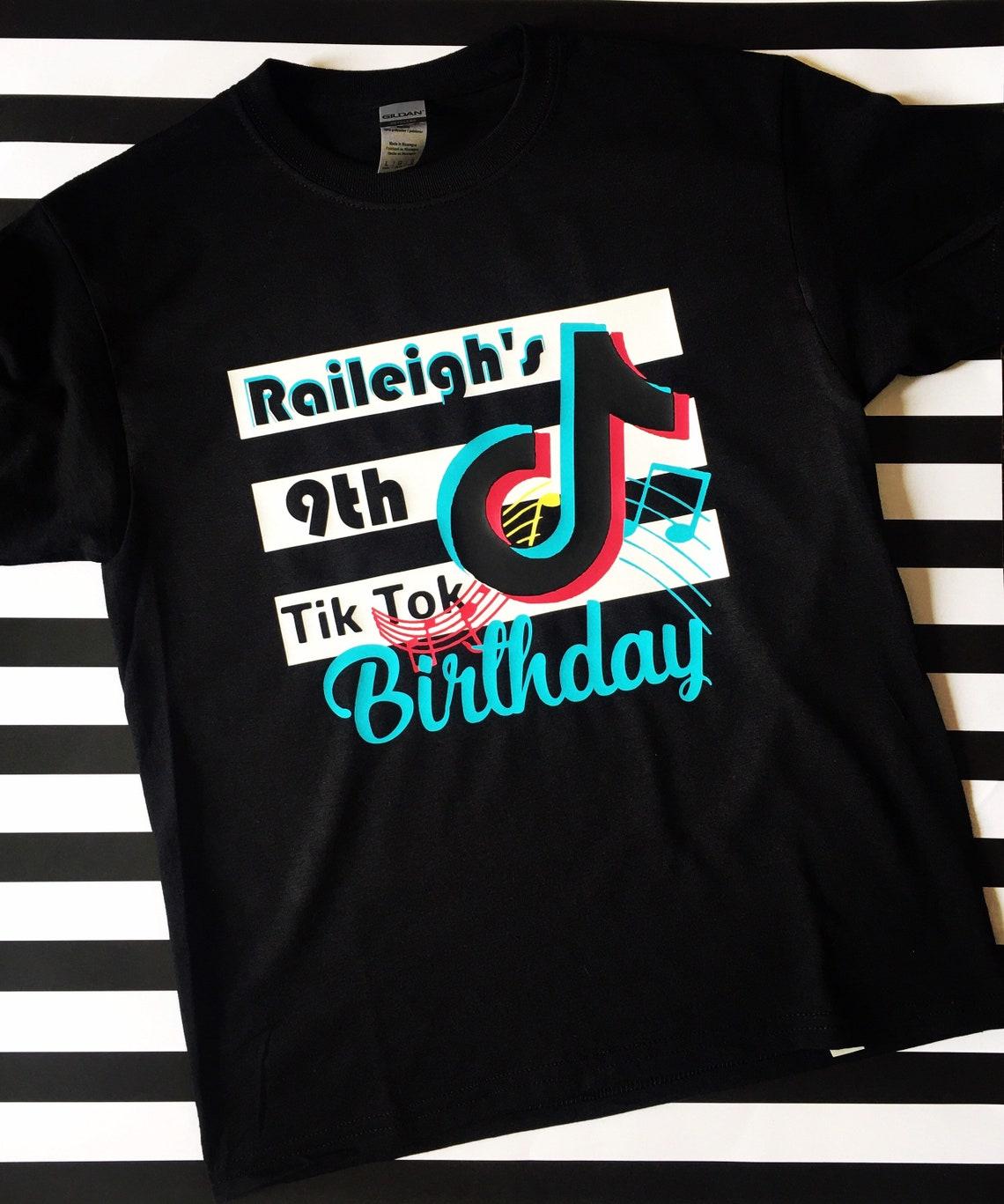 Tik Tok Birthday Tee image 0