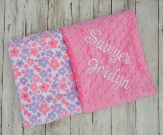 f33b3cdd1b171 Clearance Blankets - Moonbeam Minky - Personalized Softness