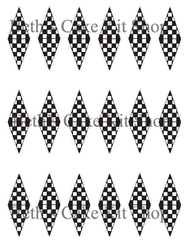 Printable Racing Checkered Flag Finish Line Download Cupcake