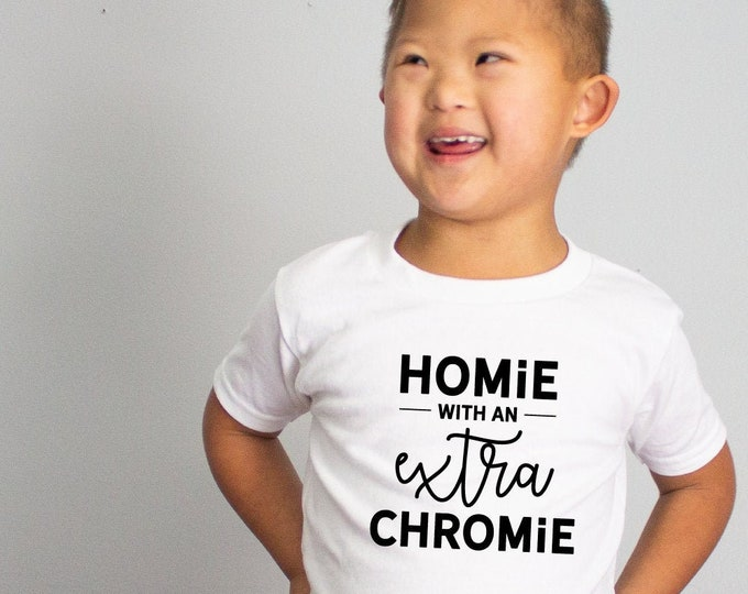 Featured listing image: Homie With An Extra Chromie Down Syndrome SVG Down Syndrome Awareness SVG Inclusion Downloadable Printable