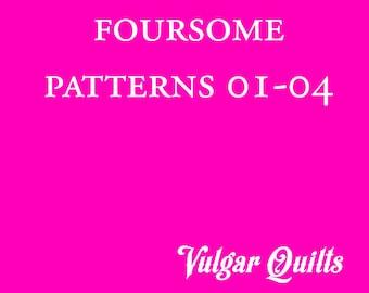Pattern Bundle: Patterns 01-04