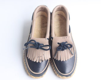6b5ddaf1d54 Vintage Women s Balloons Duck Boot Shoes Moccasin Style Size 5