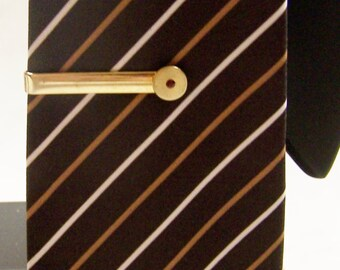 SALE - TAKE 20% OFF - Hickok Red Stone Tie Bar - Free Shipping