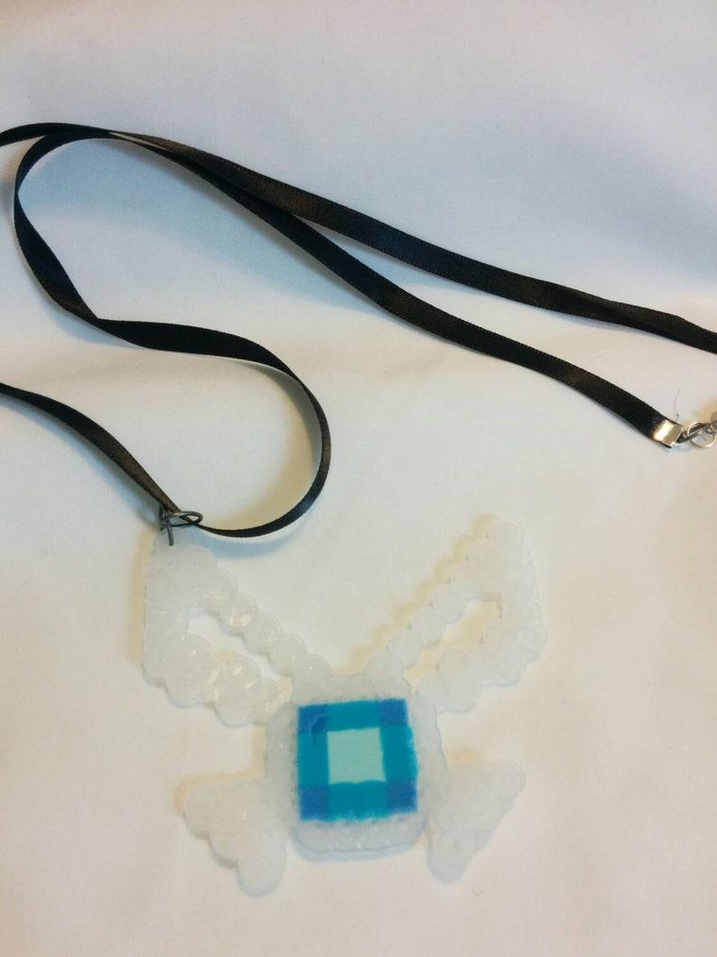 Legend of Zelda Navi Ribbon Necklace image 0