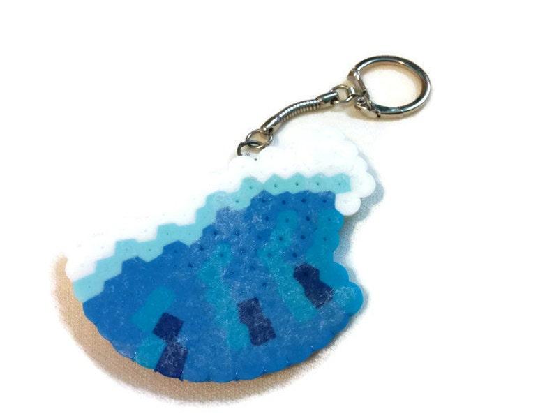 Coastal Wave Keychain image 0