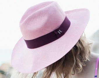03a46c3d02d Summer Pink Eva Panama Eva Wide Brim Panamá