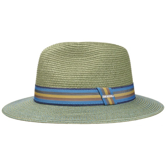 a4e75811a7f03 Green Monticello Toyo Hat by Stetson Summer hat Sun hat