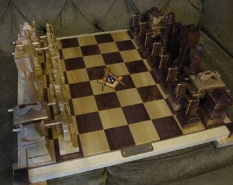 The Masonic Chess Set II.