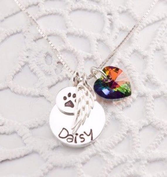 Stunning Silver Tone Shih Tzu Dog Necklace.With Organza Bag .....