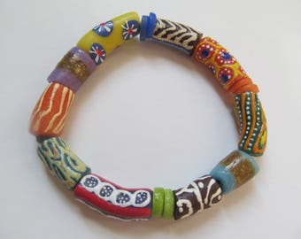 Colorful Recycled Bracelet