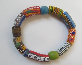 Colorful African Bracelet