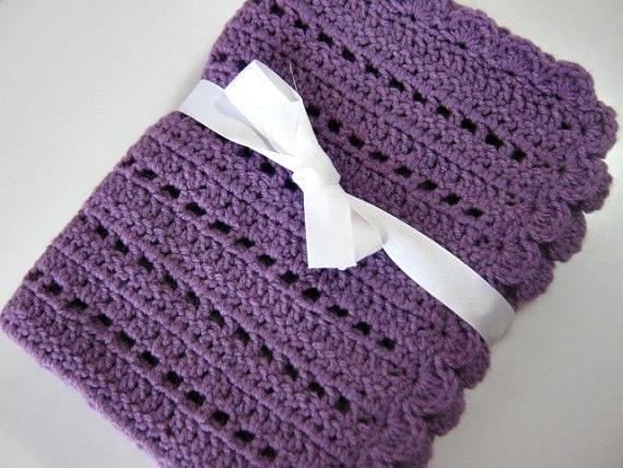 Baby Blanket Pattern For Beginners Crochet Pdf Pattern Instant Etsy
