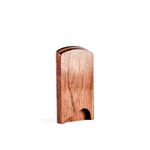Wood business card holder business card case stylish colourmoves