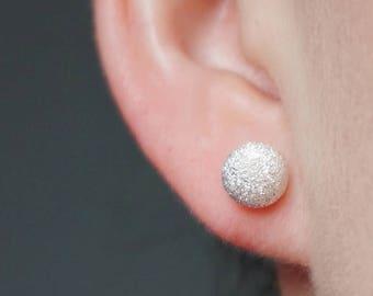 small piercings, dome earrings, circle stud earrings, stud earrings, cute earrings, giftsforher, modern minimal, minimal earrings, wife gift
