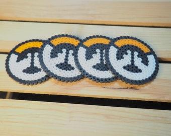 Round Overwatch Inspired Coaster Set